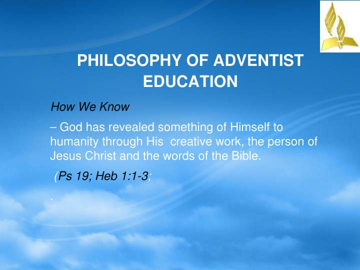 seven philosophy of education Philosophy of education has a long and distinguished history in the western philosophical 2 analytic philosophy of education and its influence conceptual analysis, careful assessment good life, and because logical analysis shows, he argued, that there are seven basic forms of knowledge.