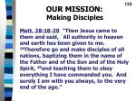our mission making disciples