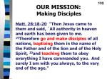 our mission making disciples1