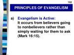 principles of evangelism
