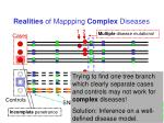 realities of mappping complex diseases