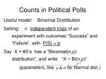 counts in political polls