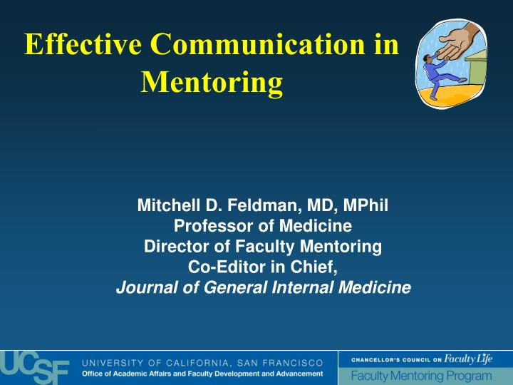 Effective communication in mentoring