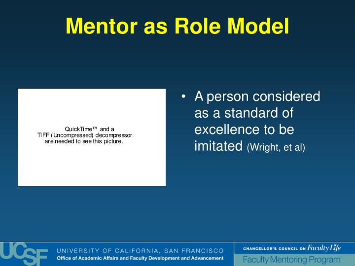 Mentor as Role Model