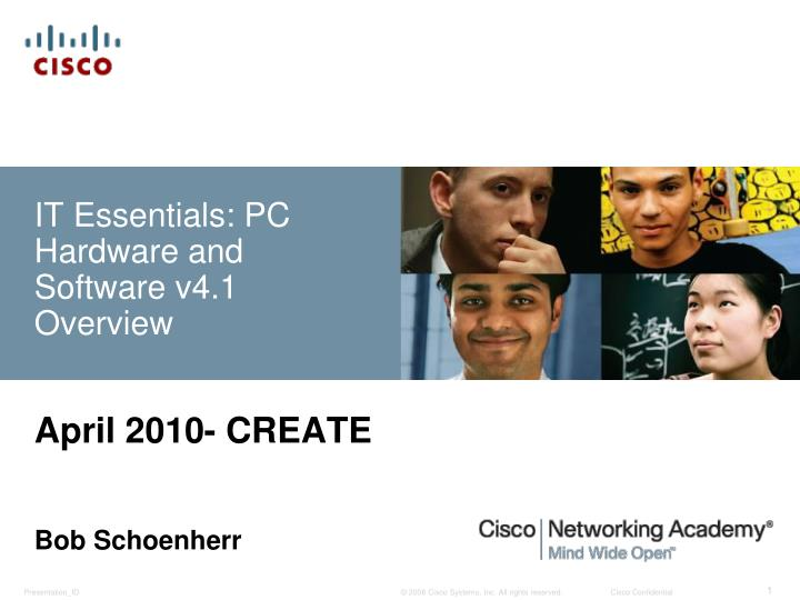 it essentials pc hardware and software v4 1 overview n.