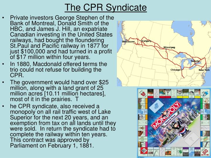 The CPR Syndicate