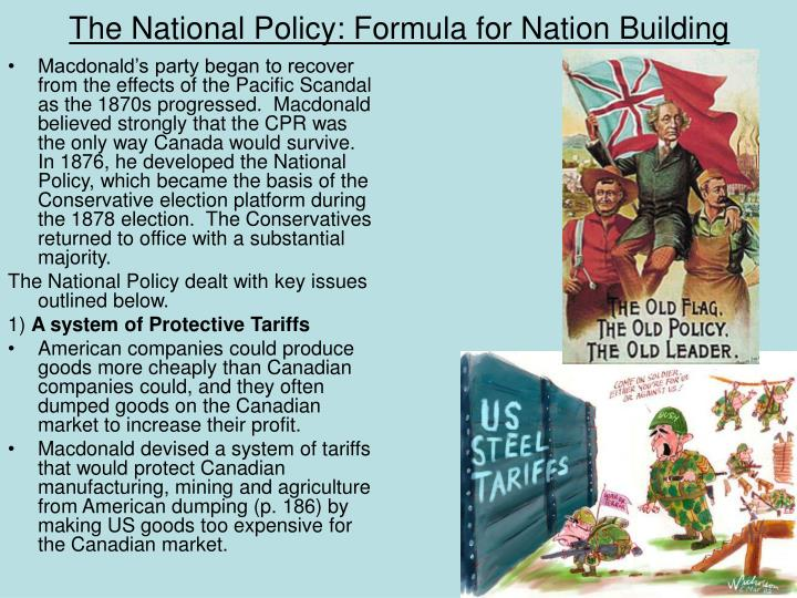 The National Policy: Formula for Nation Building