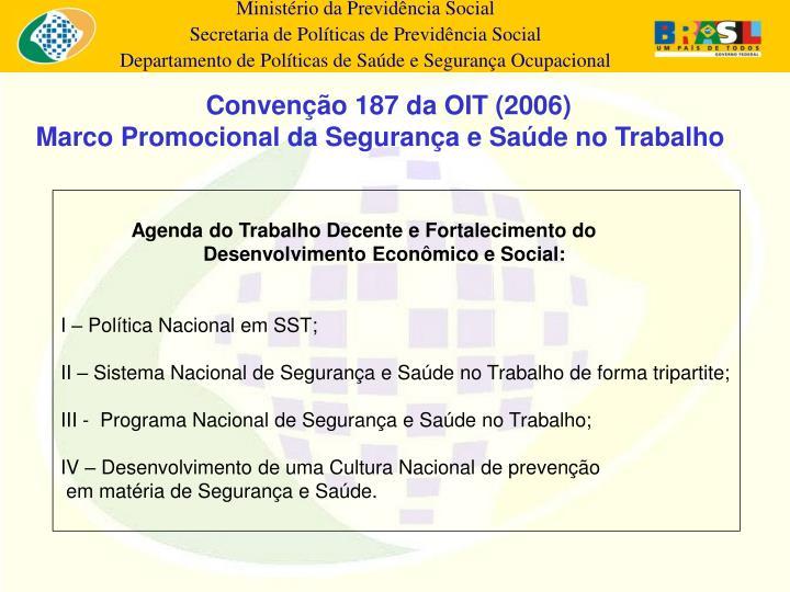 Convenção 187 da OIT (2006)