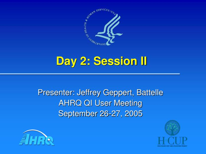 day 2 session ii n.