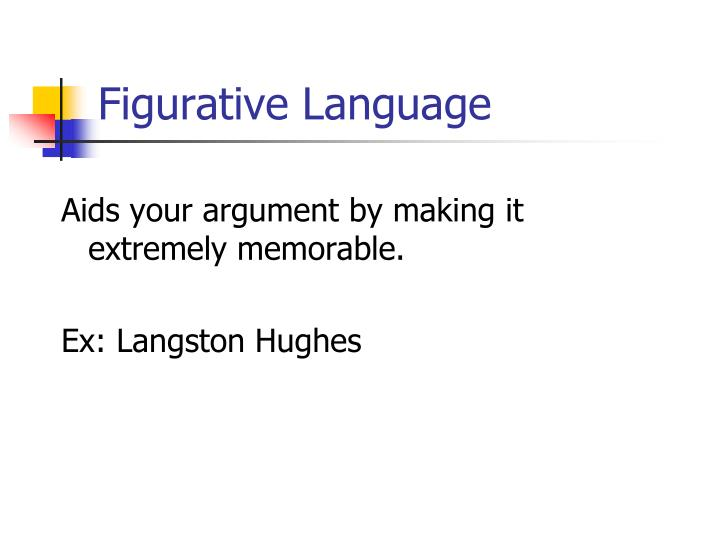 Figurative language1