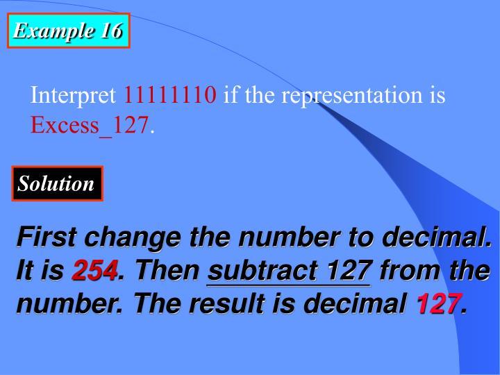Example 16