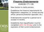 firearms endorsements 6vac20 171 135