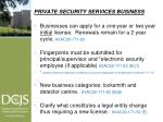 private security services business1
