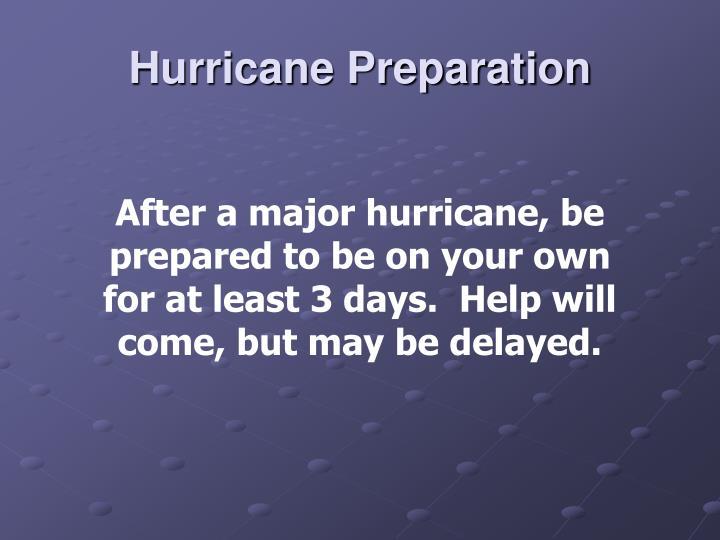 Hurricane preparation1