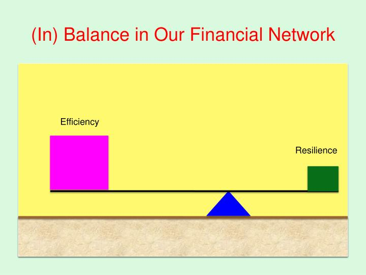 (In) Balance in Our Financial Network