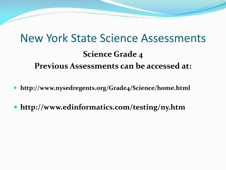 Www Nysedregents Org Grade Science Home Html