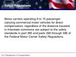 Ppt airport ground transportation association powerpoint for Who is subject to federal motor carrier safety regulations
