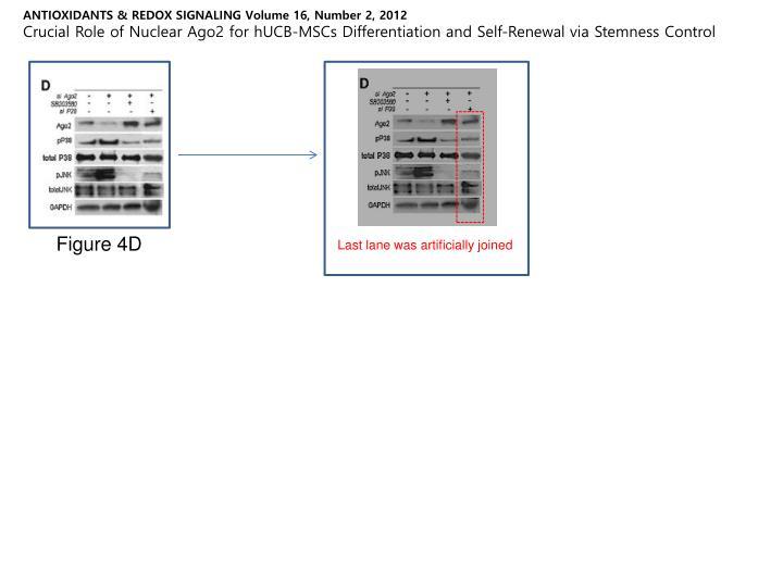 ANTIOXIDANTS & REDOX SIGNALING Volume 16, Number 2, 2012