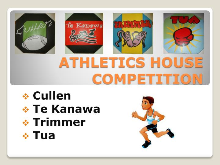 athletics house competition n.