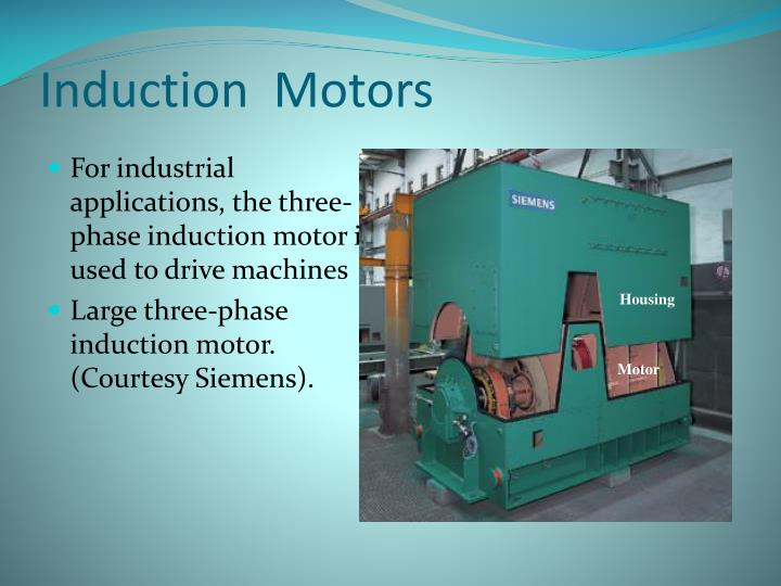 Induction Motors For Lications