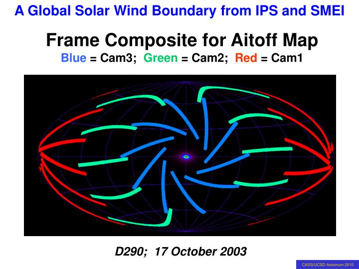 Frame Composite for Aitoff Map