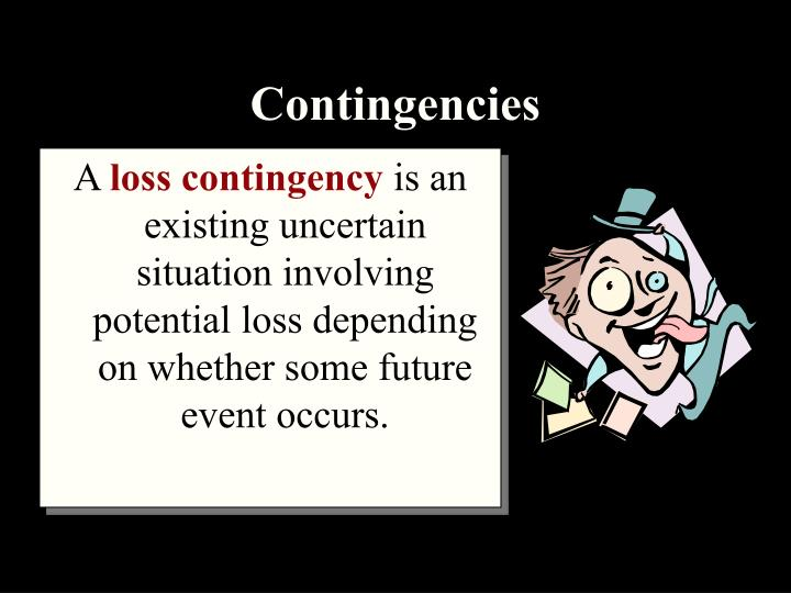 loss contingency