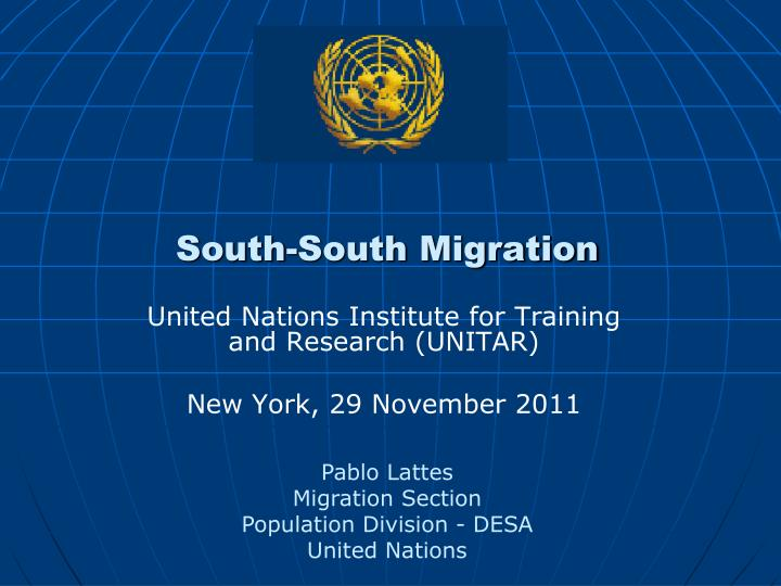 south south migration n.