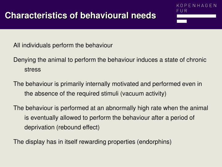 All individuals perform the behaviour