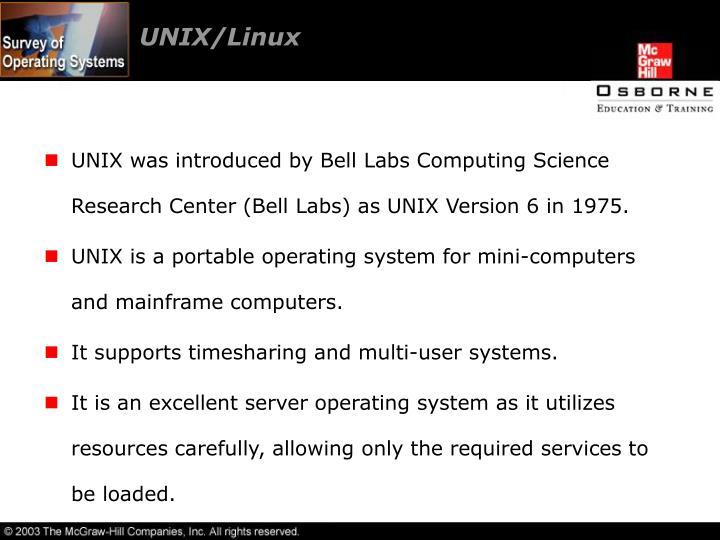 UNIX/Linux
