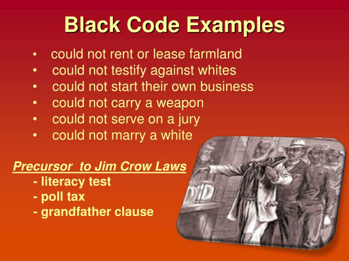 Black Code Examples
