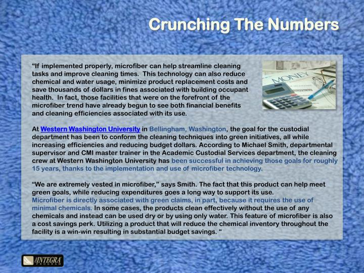 Crunching The Numbers