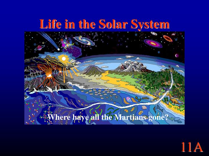 life in the solar system n.