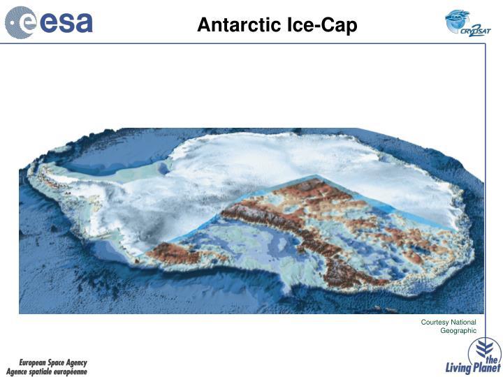 Antarctic ice cap