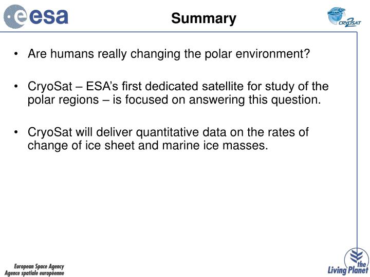 Are humans really changing the polar environment?