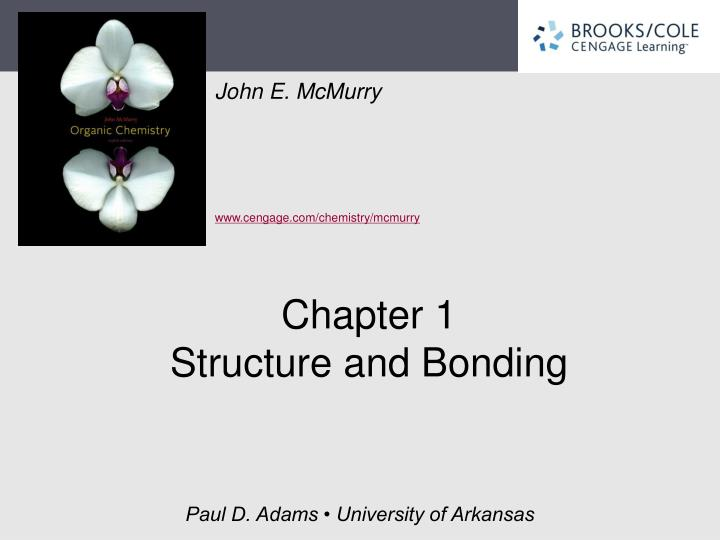 chapter 1 structure and bonding n.