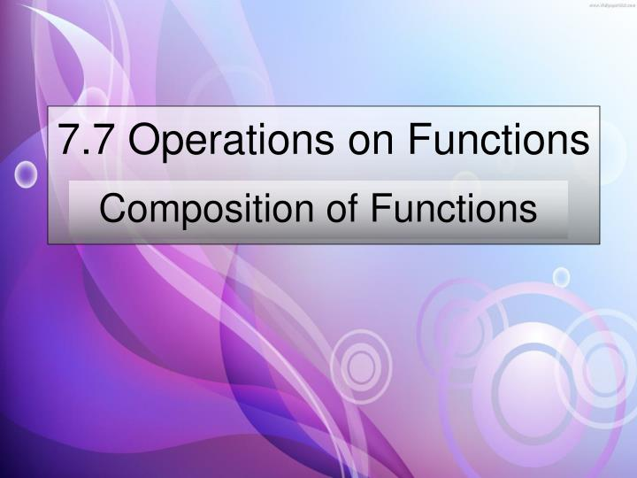 7 7 operations on functions n.