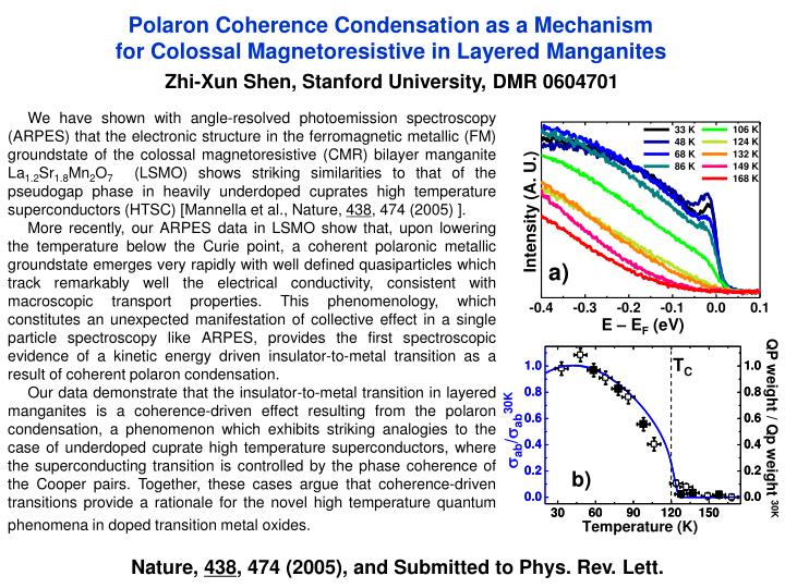 Polaron Coherence Condensation as a Mechanism