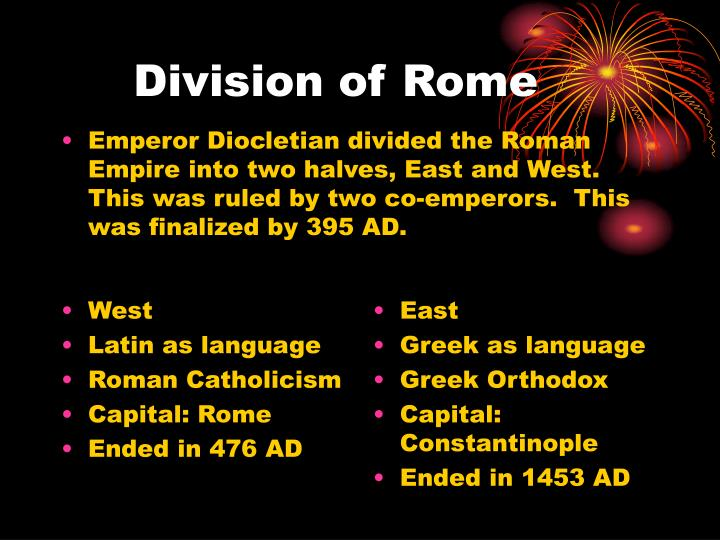 Division of Rome