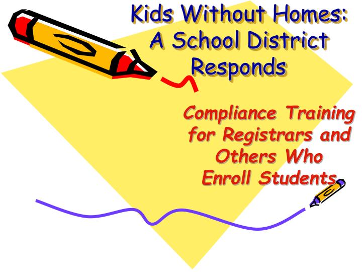 kids without homes a school district responds n.