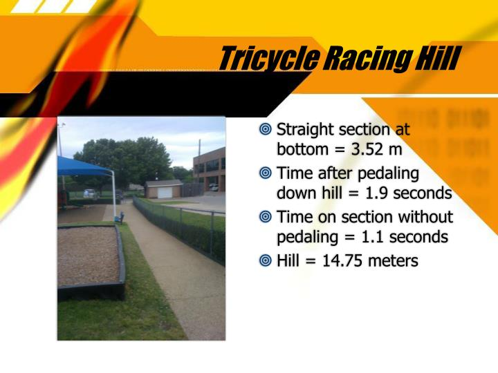 Tricycle Racing Hill