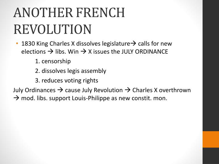 another french revolution n.