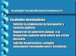 facultades fiscal a nacional econ mica 2