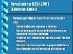 resoluci n 620 2001 edelnor emel
