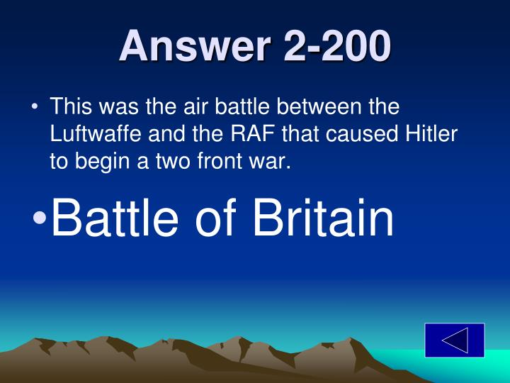 Answer 2-200