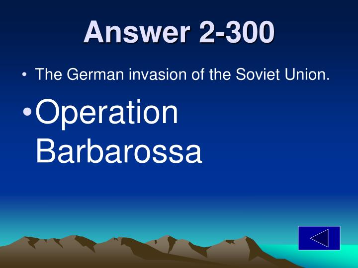 Answer 2-300