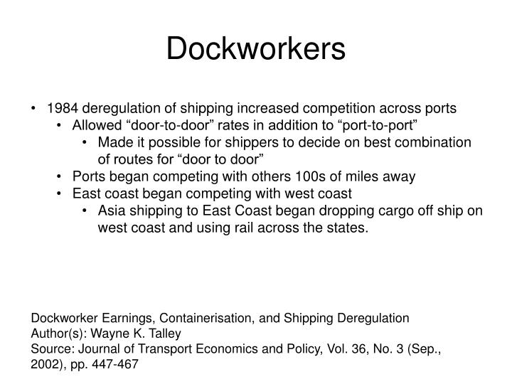 Dockworkers