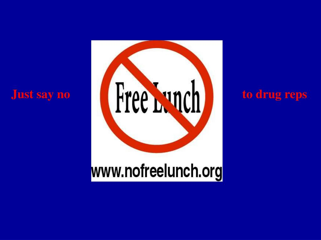 Ppt Just Say No To Drug Reps Powerpoint Presentation Id5762382