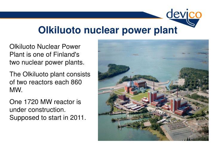 Olkiluoto nuclear power plant