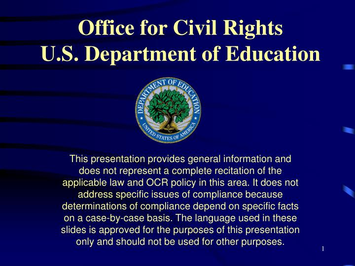 should education be a civil right People who suffer discrimination due to their race, national origin, ancestry, religion, ethnicity, age, gender, marital status, disability or sexual orientation seek justice by hiring a civil rights attorney.