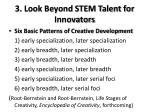 3 look beyond stem talent for innovators